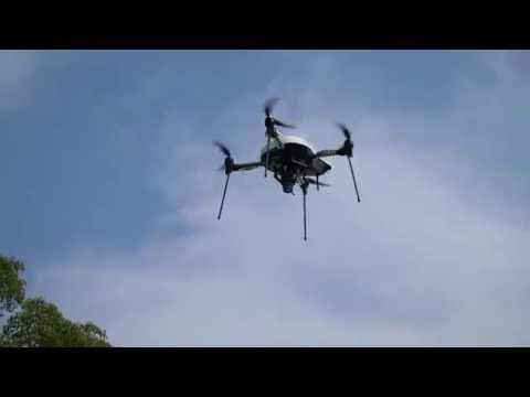 AS-MC02-P UAV Fully Automatic Flight by Aerosense Inc.
