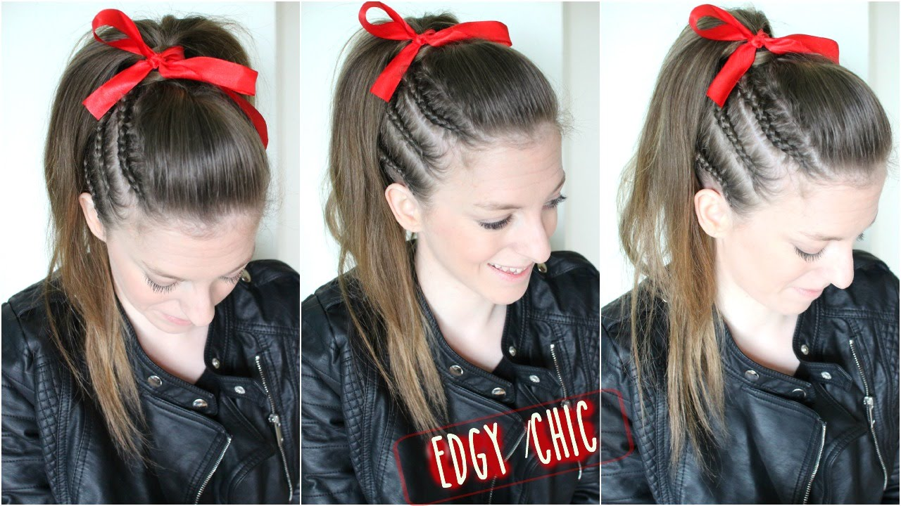 cheer hair tutorial braidsandstyles12