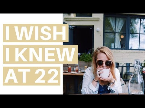 12 THINGS I WISH I KNEW AT 22 | Transition Tips for College to Career