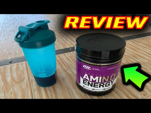 Optimum Nutrition Essential Amino Energy REVIEW