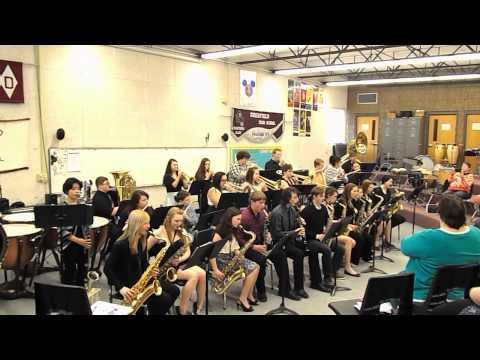 Pardeeville High School Jazz Band- A Dan Evans Origional