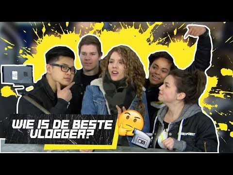 WIE IS DE BESTE VLOGGER? - JONGENS TEGEN DE MEIDEN