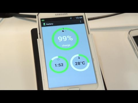 See how fast this Storedot modified Galaxy S5 can charge