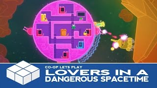 Lovers in a Dangerous Spacetime | 2 Player Co-Op Gameplay