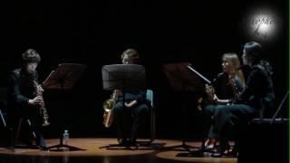 여성 5인조 For You(4U) Saxophone 연주실황 15.12.29. 클래식 색소폰 연주