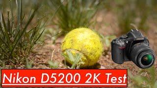 nikon d5200 64mbps hack video sunny day test 2k