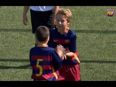 Barcelona  Young talent  | Amazing goal