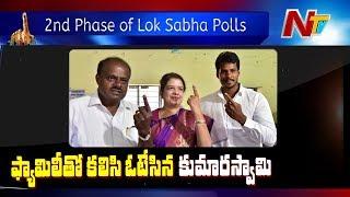 Karnataka CM Kumaraswamy Speaks To Media After Casts His Vote For Lok Sabha Polls | NTV