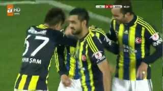 Fenerbahçe 3 -  Bursaspor 0  Maç Özeti - Ziraat Türkiye Kupası