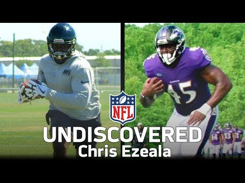 From the German Football League to the Ravens: Chris Ezeala's Journey to the NFL | NFL Undiscovered