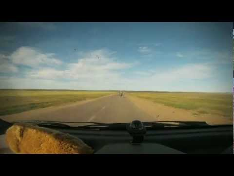 Drive Across Mongolia in 4 Minutes