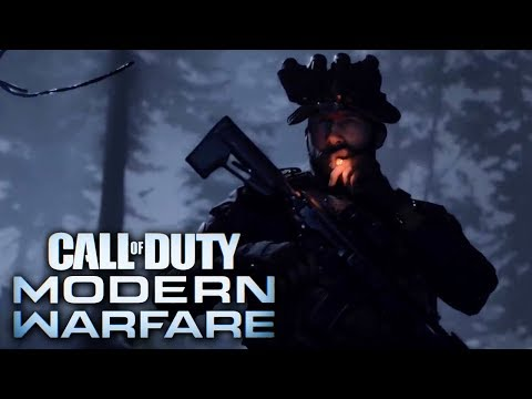 Call Of Duty Modern Warfare Official Reveal Trailer