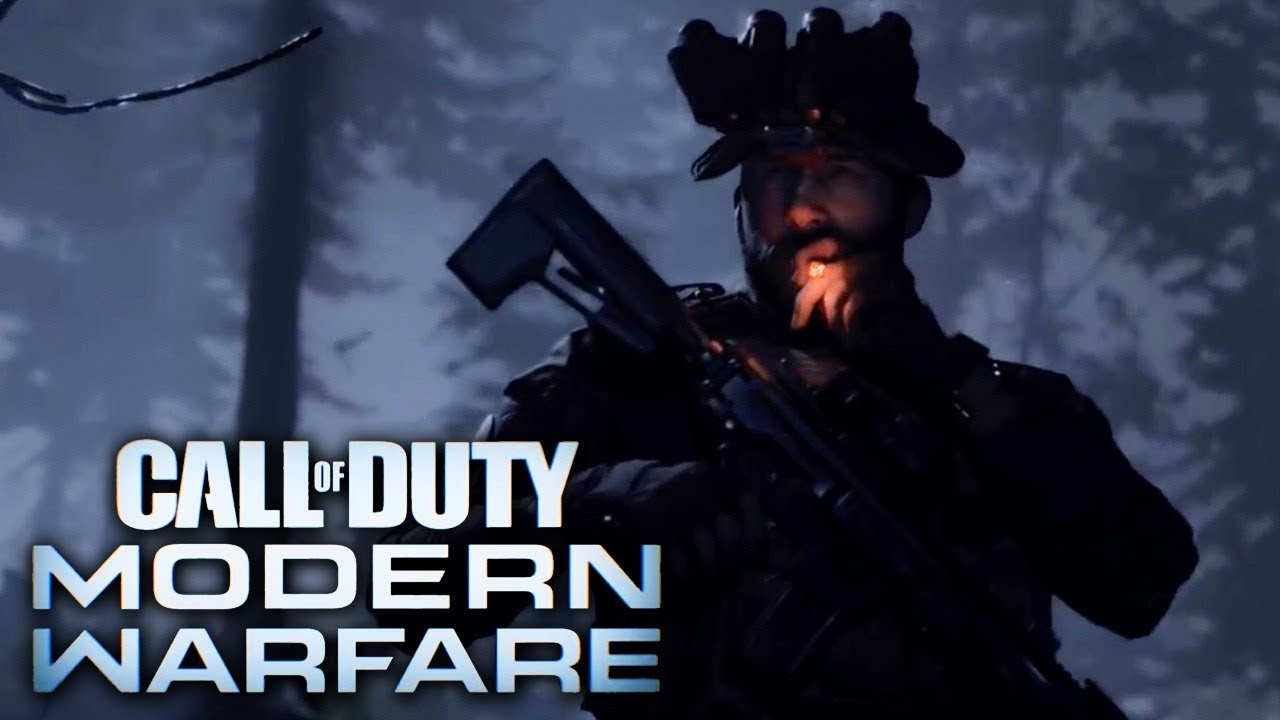 Call Of Duty Modern Warfare Official Reveal Trailer Youtube