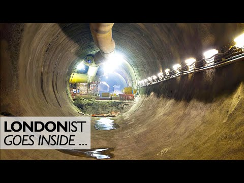 Inside Farringdon Crossrail