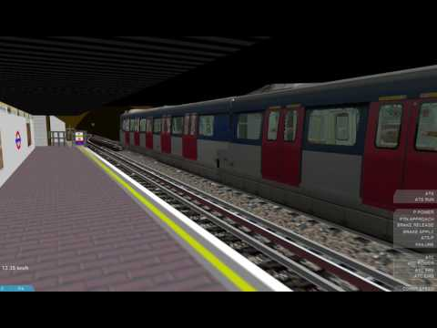 [Openbve] MTR SP1900 train departs at whitechapel station