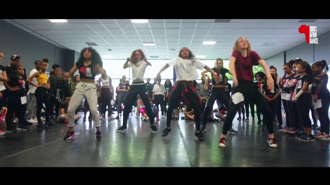100 Afrodance Workshops Petit Afro Class Youtube
