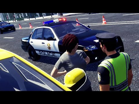 Police Simulator Patrol Duty #1 - DUI Checkpoint Patrol