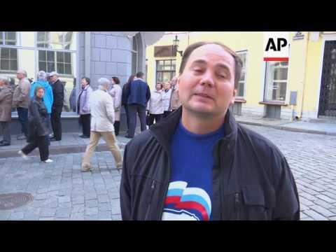 Russian expats in Tallinn vote in national elex