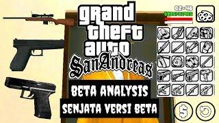 GTA San Andreas Beta Version : Senjata Versi Beta (Beta Weapon Analysis)