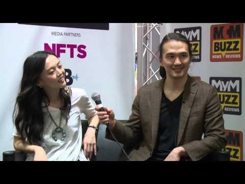Rila Fukushima and Karl Yune MCM Buzz stage Episode 14  MCM London Comic Con