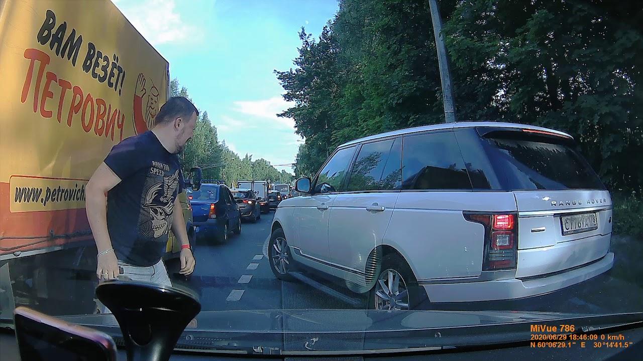 فيديو مشاجره غضب الشارع  و الرد المفاجئ من سائق الرينج