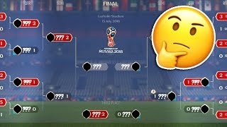 SIMULATING THE 2018 WORLD CUP 10X TIMES!! - PREDICTING THE WORLD CUP 2018