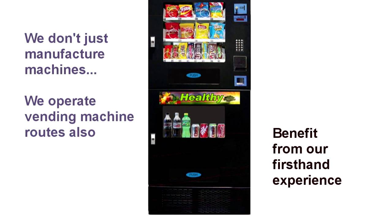 vending machine business sale