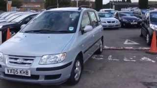 2005 Hyundai Matrix 1.6 GSi at www.gullwingcarsales.co.uk