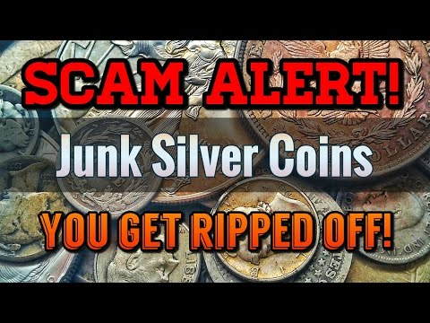 SCAM ALERT: Junk Silver Prices RIP YOU OFF