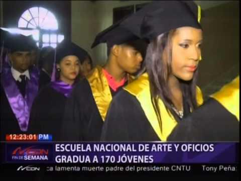 escuela-nacional-de-arte-y-oficios-gradúa-a-170-jóvenes