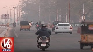 Temperature Levels Raised In Hyderabad City   Weather Report   V6 News