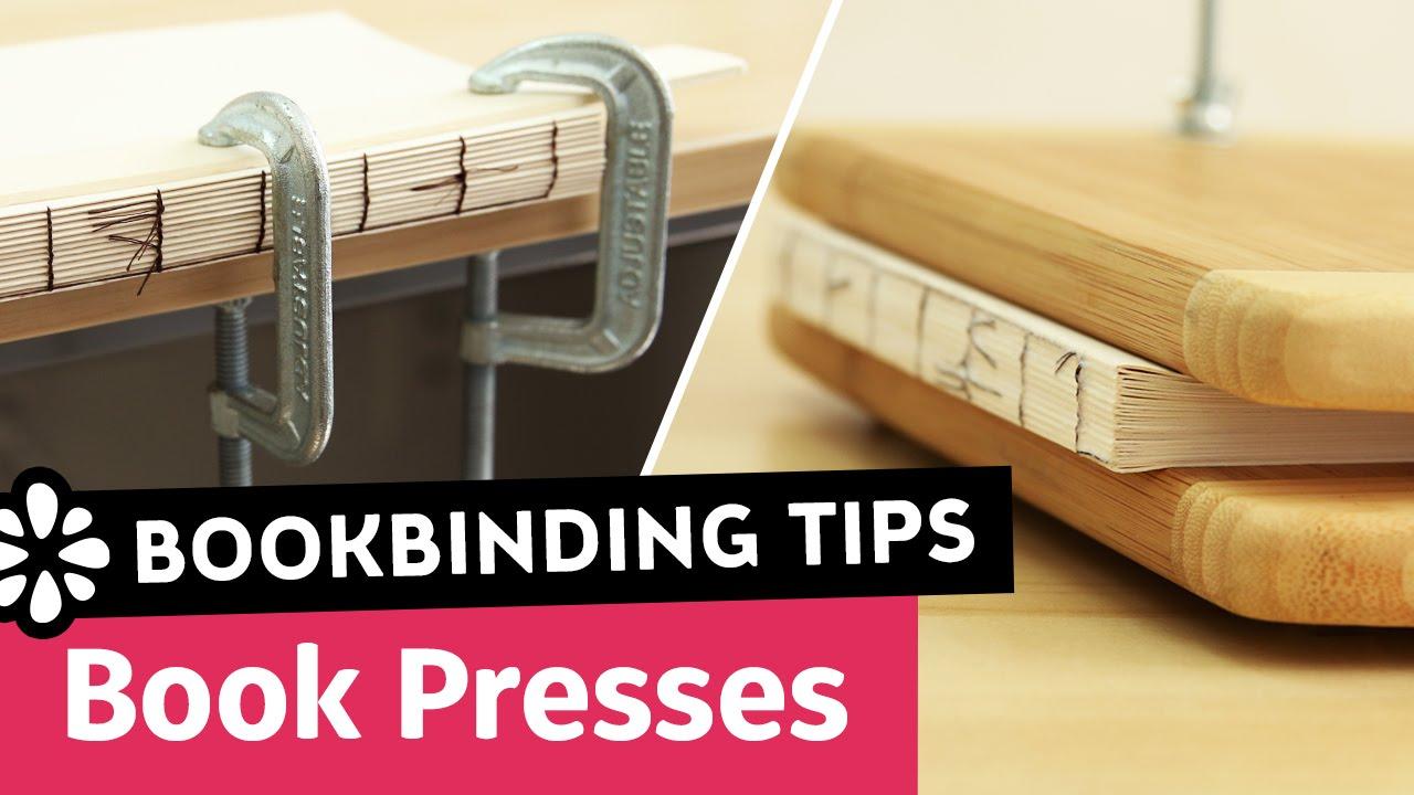 Diy book press tips for bookbinding sea lemon youtube solutioingenieria Images