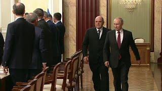Новый состав правительства российские СМИ назвали командой единомышленников.