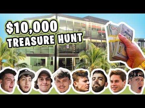 HIDDEN $10,000 TREASURE HUNT AT THE FAZE HOUSE