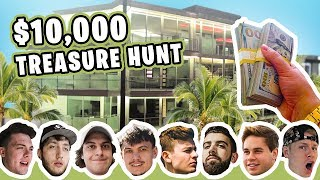 HIDDEN $10,000 TREASURE HUNT AT THE FAZE HOUSE