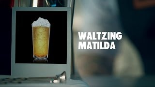 WALTZING MATILDA DRINK RECIPE - HOW TO MIX