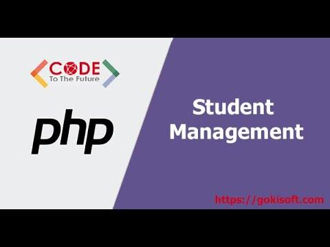 [khóa học lập trình PHP] Chữa bài tập thêm sửa xoá thông tin sinh viên+tạo database và table từ code