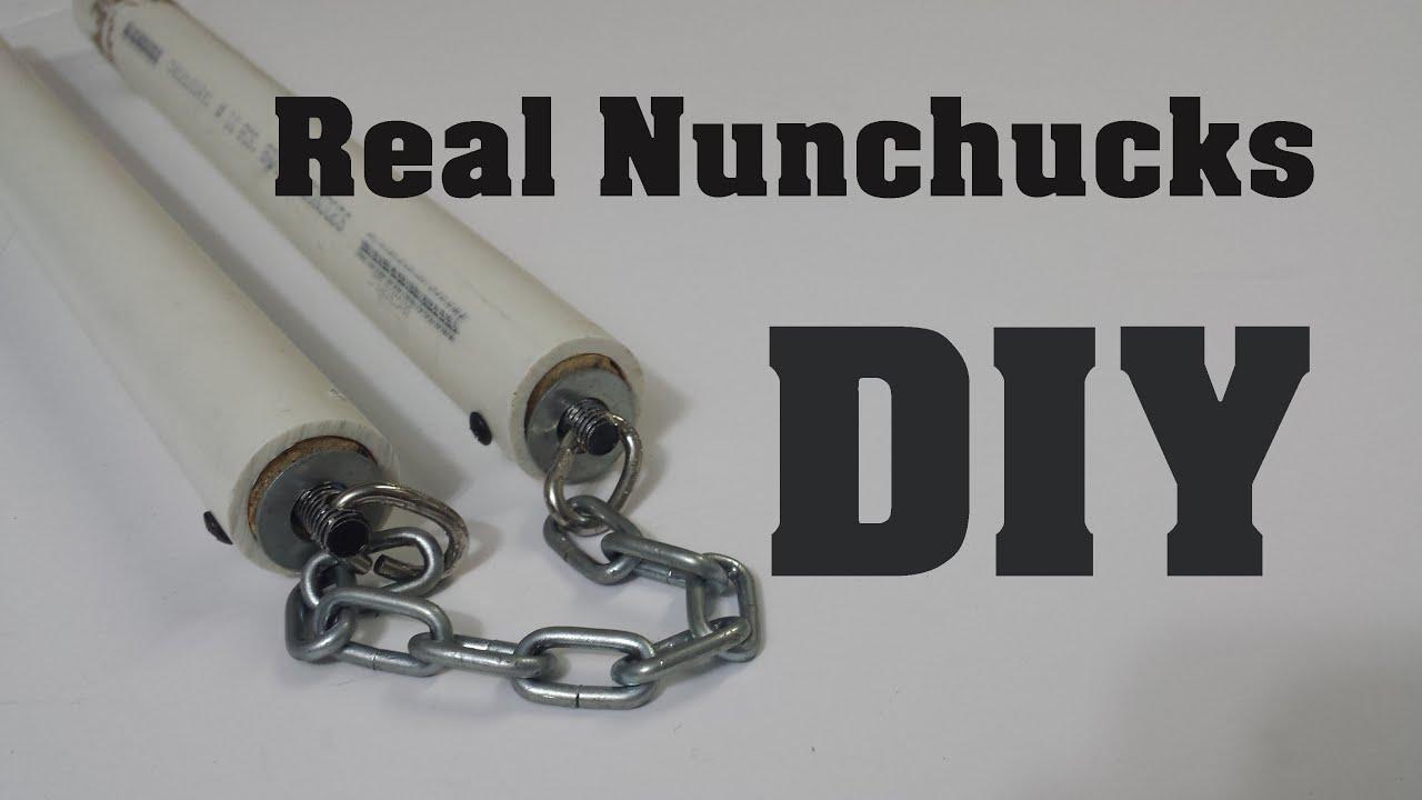 Download DIY: How to make Free Spin Nunchucks (Nunchaku) : HD1080p