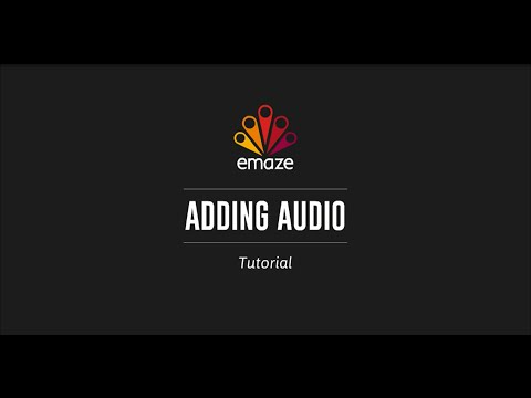 voice over music