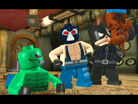 LEGO Batman: The Video Game Walkthrough - Villains Episode 2-1 - Rockin'  the Docks