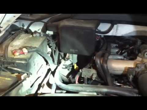 97 F150 air conditioner fill and low air port location