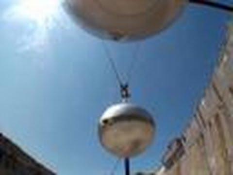 MythBusters - Massive Newton's Cradle