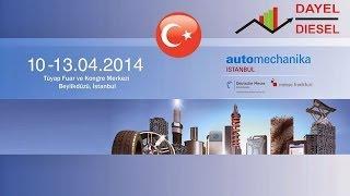 DAYEL -  Выставка Автомеханика 2014 / Стамбул / Турция(Турецкая компания DAYIOĞLU ELEKTRONİK SAN.TİC.LTD.ŞTİ под торговой маркой