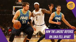 How the Lakers Defense vs Luka Doncic Fell Apart
