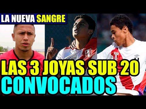 Los TAPADITOS DE GARECA 3 JOYAS Peruanas de la SUB 20 Seran CONVOCADOS a la seleccion PERUANA