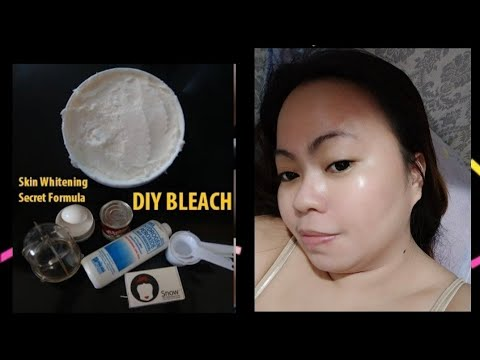 Skin Whitening Secret Formula | DIY Skin Lightening Bleach