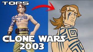 TOP5 Figuras Basadas En Clone Wars 2003 - Star wars Hasbro