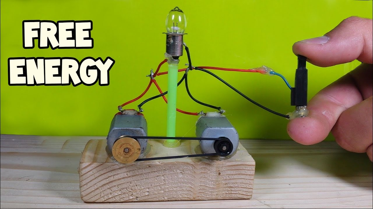 Free Energy Light Bulbs - Using Piezo Igniter - YouTube