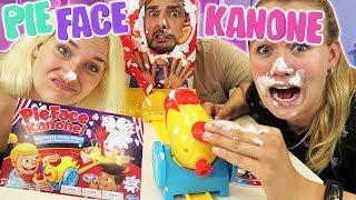 PIE FACE KANONE Challenge mit Kaan vs Nina vs Kathi! Rasierschaum voll in your Face! Deutsch