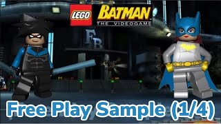 Let's Play: Lego Batman the Video-game Part 32 (Free Play Samples 1/4)